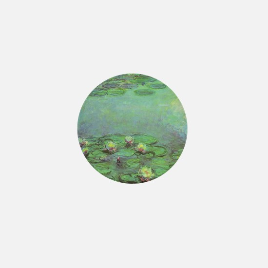 Waterlilies by Claude Monet Mini Button