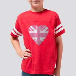 iloveuk6 Youth Football Shirt