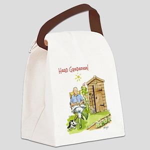 Head Gardener. Canvas Lunch Bag
