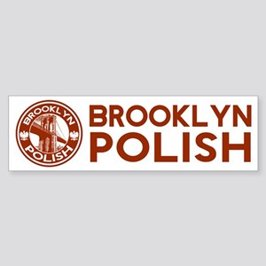 Brooklyn New York Polish Bumper Sticker