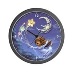 Bedtime Travels Wall Clock