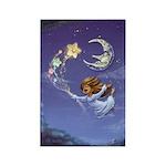 Bedtime Travels Rectangle Magnet (100 pack)