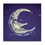 Bedtime Travels Tile Coaster