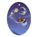 Bedtime Travels Ornament (Oval)