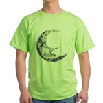 Bedtime Travels Green T-Shirt