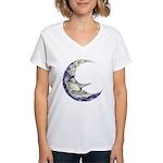 Bedtime Travels Women's V-Neck T-Shirt