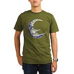 Bedtime Travels Organic Men's T-Shirt (dark)