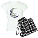 Bedtime Travels Women's Light Pajamas