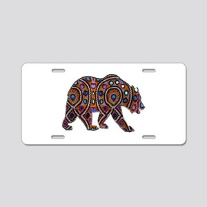 POWERED UP Aluminum License Plate