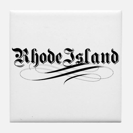 Rhode Island Tile Coaster