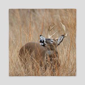 Buck in the Grass Queen Duvet
