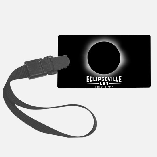 Eclipseville USA Luggage Tag