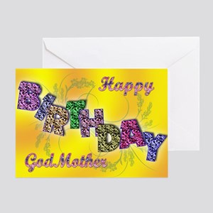 Birthday Card For Godmother Greeting