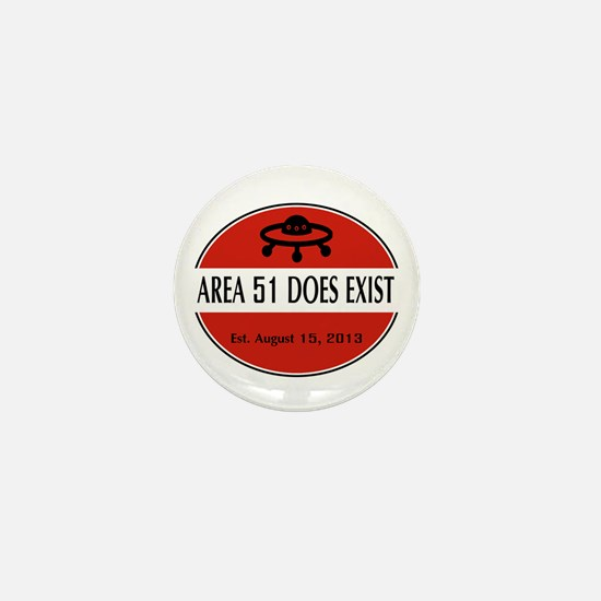 Area 51 Does Exist Mini Button