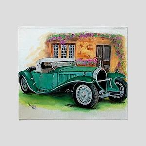 1932 Type 41 Throw Blanket