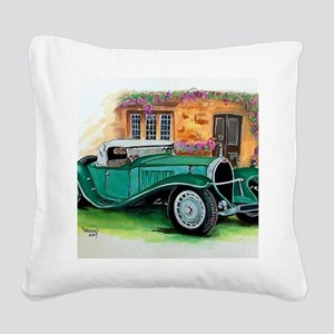 1932 Type 41 Square Canvas Pillow