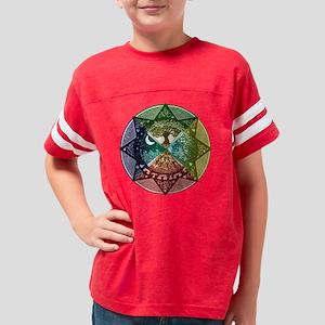 2-quartersMandala Youth Football Shirt