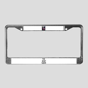 NAVY DOG License Plate Frame