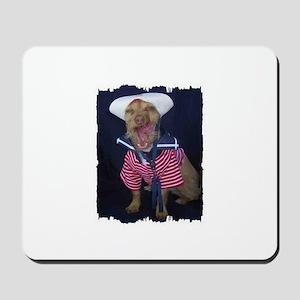 NAVY DOG Mousepad