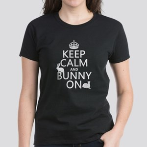 Keep Calm and Bunny On T-Shirt