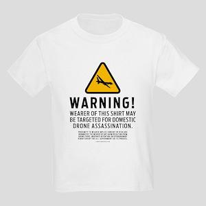Drone Warning T-Shirt