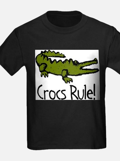 Crocs Rule! Ash Grey T-Shirt