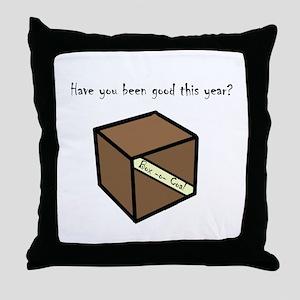 Box-o-coal Throw Pillow