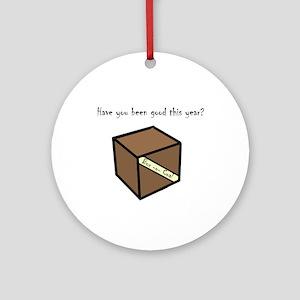 Box-o-coal Ornament (Round)