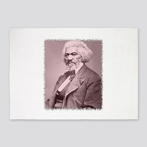 Frederick Douglass 5'x7'Area Rug