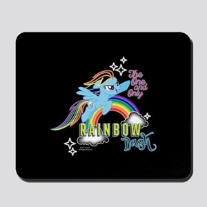 MLP One And Only Rainbow Dash Mousepad