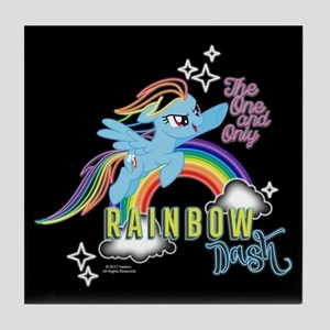 MLP One And Only Rainbow Dash Tile Coaster