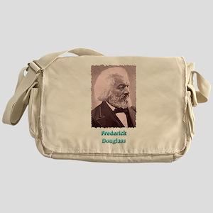 Frederick Douglass 2 w text Messenger Bag