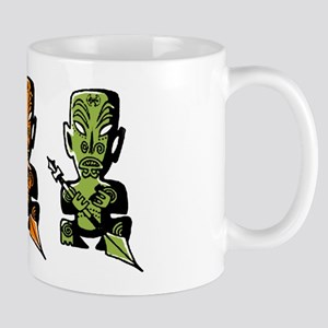 Three Tiki Gods Mug