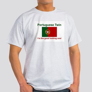 Good Looking Portuguese Twin Ash Grey T-Shirt