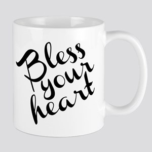 Bless Your Heart (in black) Mug