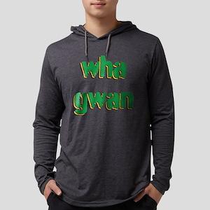 Wha Gwan Mens Hooded Shirt