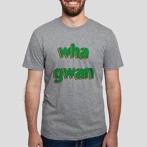 Wha Gwan Mens Tri-blend T-Shirt