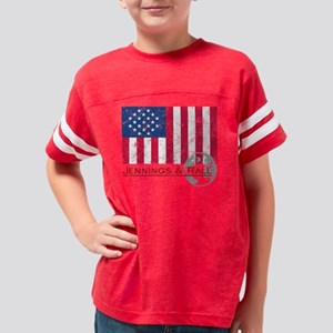 jer-dist_JR-flag Youth Football Shirt