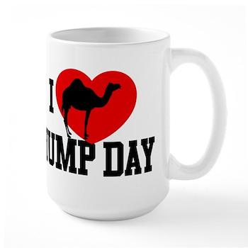 I Heart Hump Day Large Mug