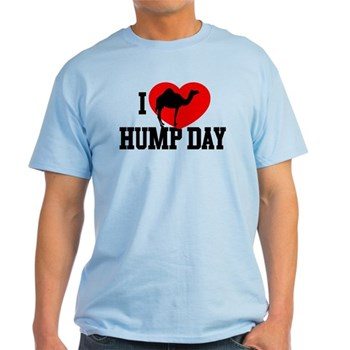 I Heart Hump Day Light T-Shirt