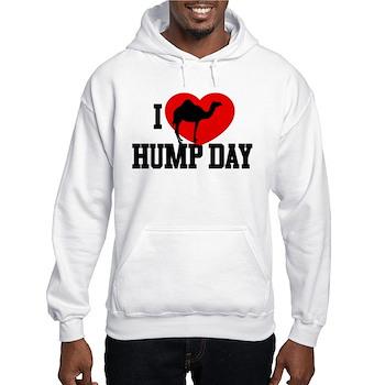 I Heart Hump Day Hooded Sweatshirt