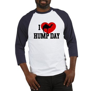 I Heart Hump Day Baseball Jersey