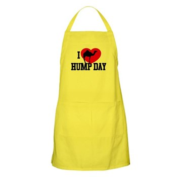 I Heart Hump Day Apron