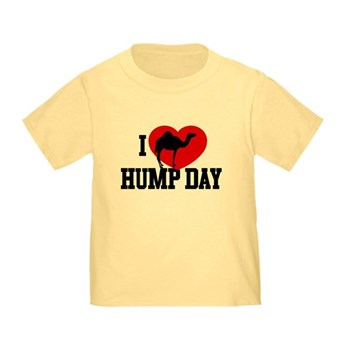 I Heart Hump Day Infant/Toddler T-Shirt