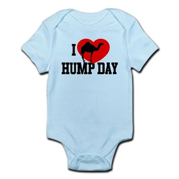 I Heart Hump Day Infant Bodysuit