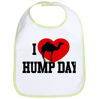 I Heart Hump Day Bib