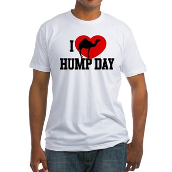 I Heart Hump Day Fitted T-Shirt