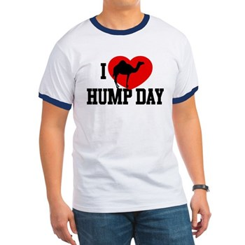 I Heart Hump Day Ringer T-Shirt