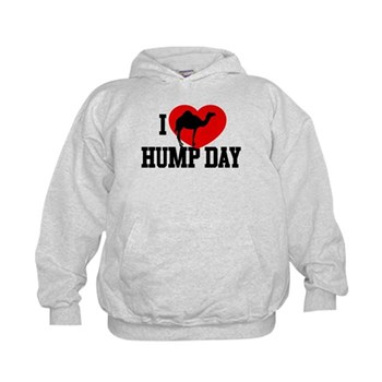 I Heart Hump Day Kid's Hoodie