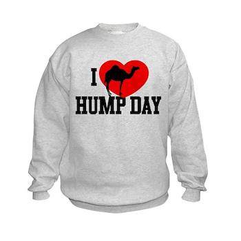 I Heart Hump Day Kids Sweatshirt